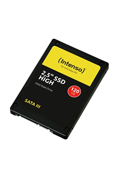 """Intenso INT3813430 2,5"""" 120GB 520/500MB/s Okuma/Yazma SATA 3 SSD"""
