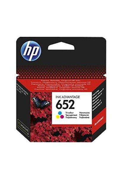 HP 652 F6v24a Renkli Orjinal Kartuş - Deskjet 1115 / 3635 / 3835 / 4535 / 4675