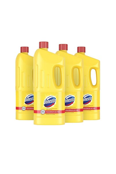 Domestos Çamaşır Suyu Limon Ferahlığı 1850 ml - 4'lü Paket