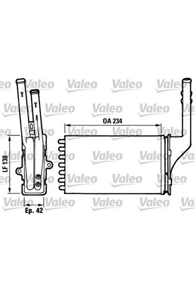 VALEO Kalorifer Radyatoru ( Peugeot : 106 Citroen : Saxo Ax ) - Val-812016