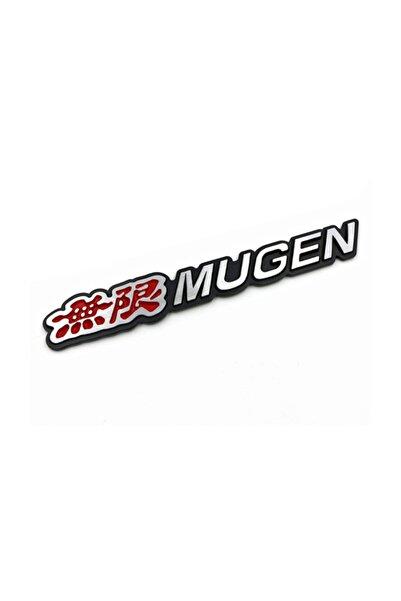 Şanlı Mugen Plastik Krom Arma Logo Sticker