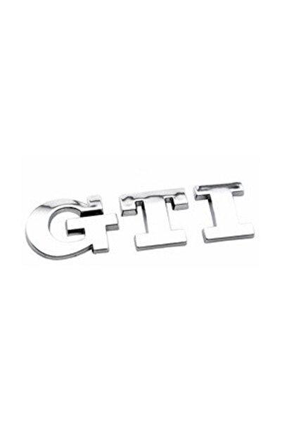Şanlı Volkswagen GOLF GTI Plastik Krom Arma Logo Sticker