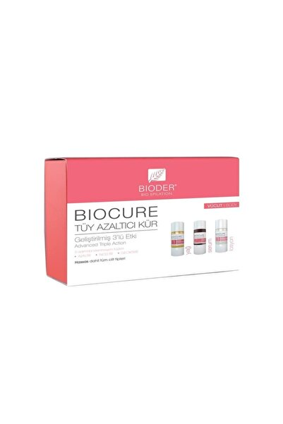 Bioder Tüy Azaltıcı Kür Hassas Ciltler İçin 3X10 ml