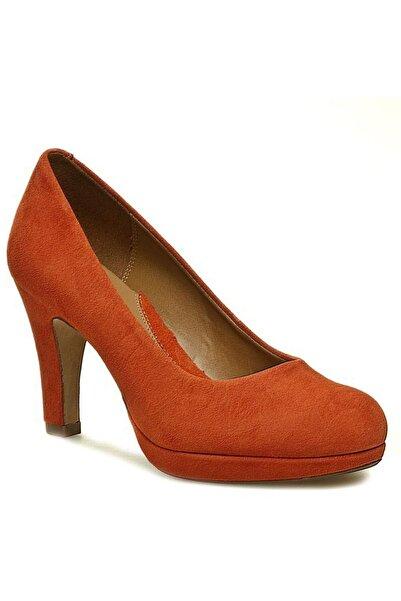 CLARKS Kadın Turuncu Anıka Kendra Topuklu Ayakkabı