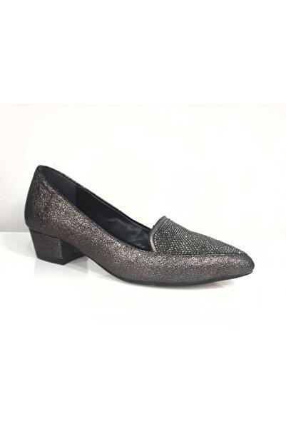 PUNTO Kadın Taşlı Topuklu Ayakkabı 446009z