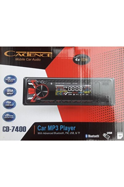 Cadence Teyp Cd-7400 Bluetoothlu