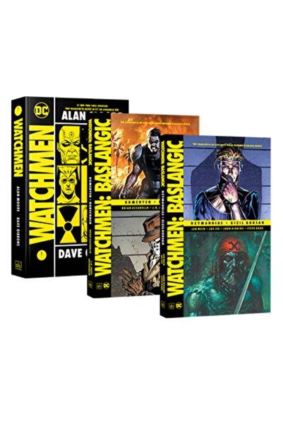 İthaki Yayınları Watchmen 3 Kitap Set