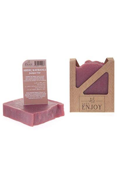 Enjoy Suds Enjoy Doğal Ardıç Katranı Antibakteriyel El Yapımı Yüz, Saç ve Vücut Sabunu 100 gr