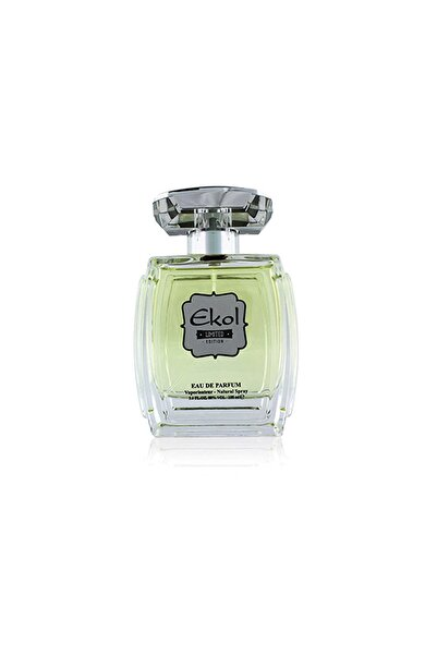 Ekol Eau De Parfume 100 ml  Grey Unisex Parfüm