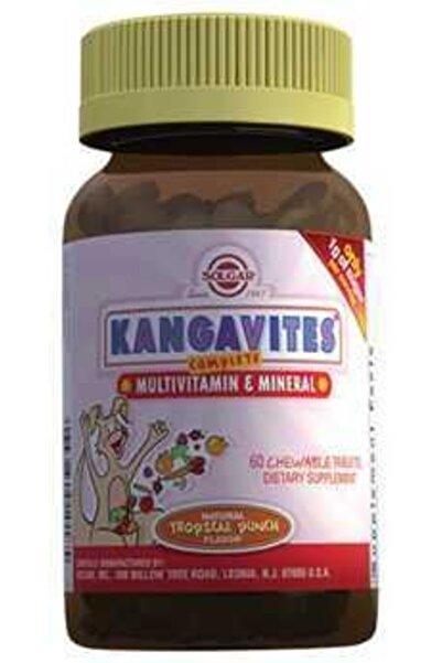 Solgar Kangavites Multivitamin & Mineral 60 Çiğneme Tableti