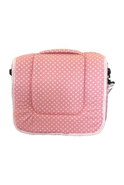 Kids Nino Kidsnino Portatif Bebek Yatağı ve Alt Açma Çantası Pink