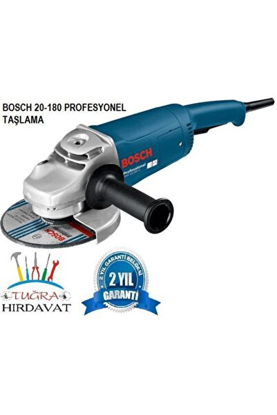 Bosch Gws 20-180 H Avuç Taşlama Sprel