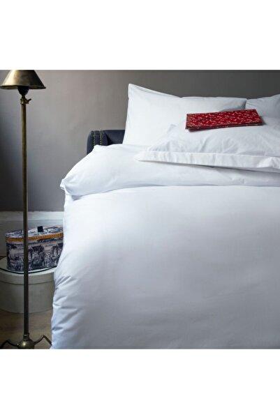 İssimo Home White Series Ranforce Çift Kişilik Otel Nevresim