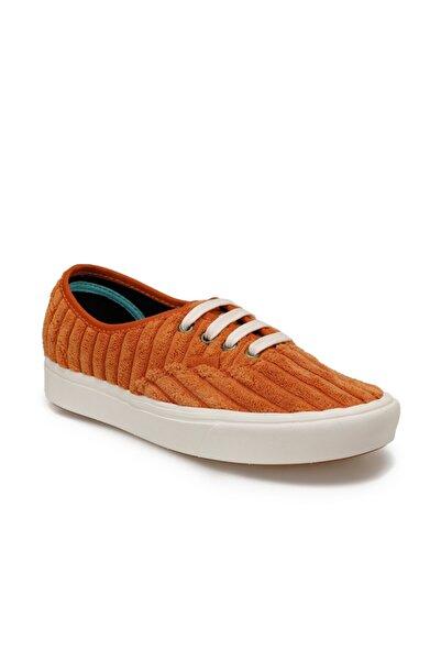 Vans Ua Comfycush Authentıc Turuncu Kadın Kalın Tabanlı Sneaker