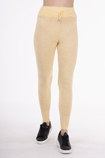STAMINA Kadın Sarı Pantolon-4ız07