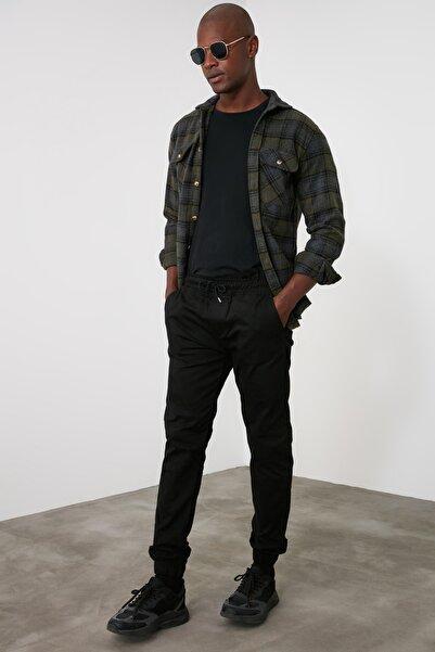 TRENDYOL MAN Siyah Erkek Jogger Pantolon TMNSS20PL0056
