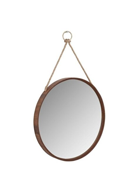Nandy Home Ahşap Çerçeveli Ipli Ayna