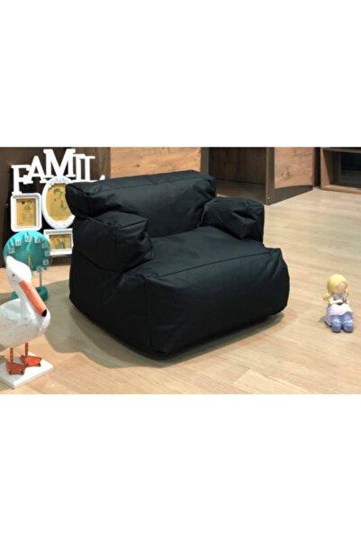 Pufumo Armutland Mini Relax Armut Puf Koltuk Siyah ( 1-8 Yaş )