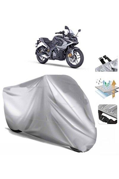CoverPlus Bajaj Pulsar Rs 200 Motosiklet Brandası Motor Branda (bağlantı Tokalı)