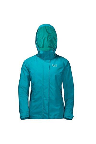 Jack Wolfskin Kadın Mavi Iceland Voyage 3ın1 W Outdoor Ceket