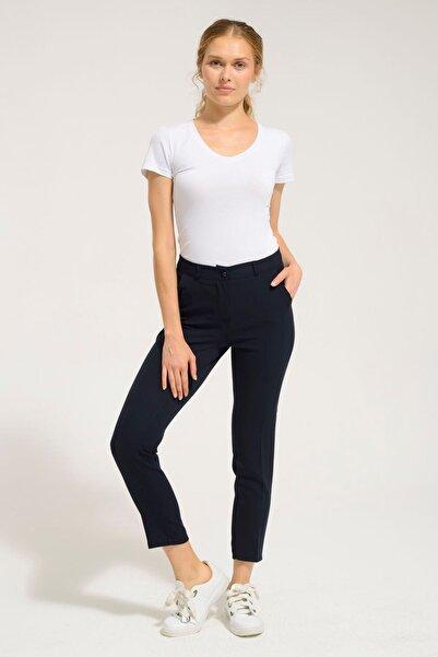 Batik Kadın Lacivert Düz  Pantolon