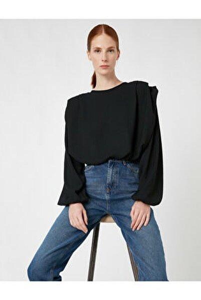 Kadın Siyah Bluz 1KAK68167PW