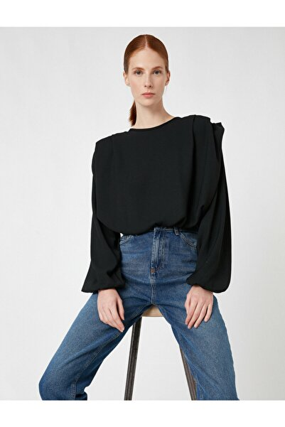 Koton Kadın Siyah Bluz 1KAK68167PW