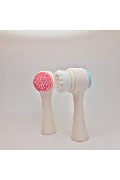 Gold Pembe Care Yüz Temizleme Fırcası Çift İşlevli