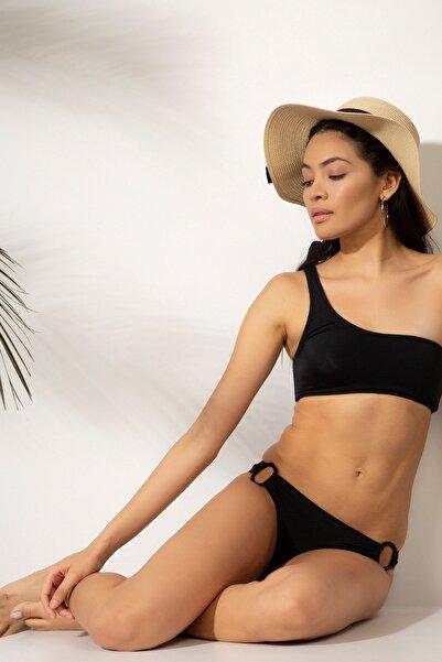 T-Box Kadın Siyah Bikini Üst 503183629