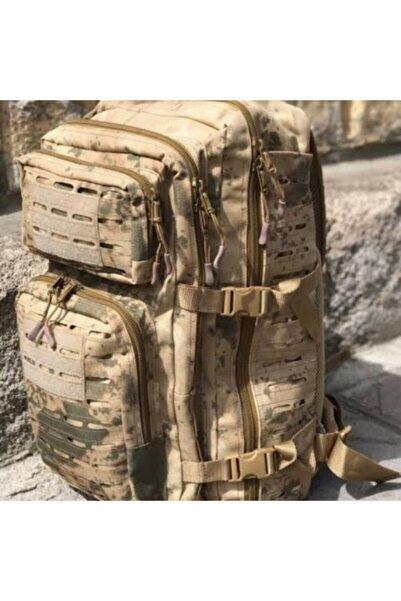 Silyon Askeri Giyim Unisex Kamuflaj Renk Taktik Çanta 55 lt Su Geçirmez Cordura Kumaş Jandarma