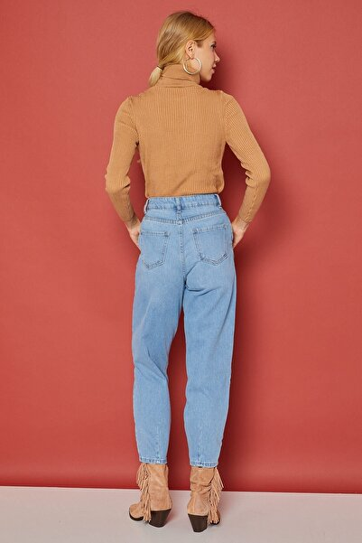 Arma Life Kadın Mavi Slouchy Jean Pantolon