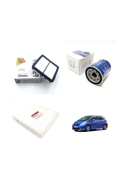 WUNDER Honda Jazz Iıı 1.4 Vtec ( 2008 - 2014 ) Filtre Bakım Seti