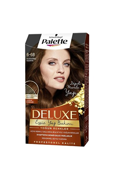 Palette Deluxe Saç Boyası 6-68 Karamel Kahve