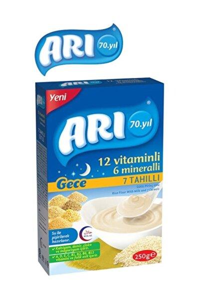 Arı Mama Pirinç Unu 200 gr Gece 7 Tahıllı Sütlü 12 Vitaminli 6 Minarelli