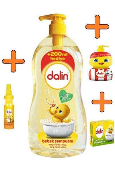 Dalin 900ml Bebek Şampuanı+kolay Tarama Spreyi+500ml Özel Şamp+100gr Kuru Sabun Göz Yakmayan Formül
