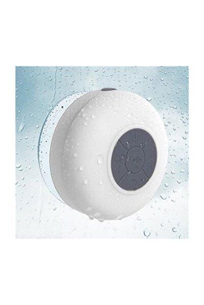 Diwu Su Geçirmez Mini Bluetooth Duş Hoparlörü (Beyaz)