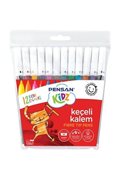 Pensan 12 Renk Keçeli Kalem