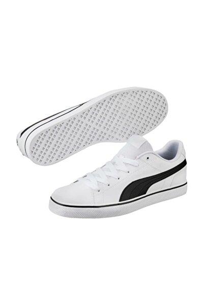 Puma COURT POINT VULC V2 Beyaz Erkek Sneaker Ayakkabı 100257219