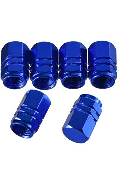 ModaCar 2 Yedekli Mavi Sibop Kapağı Seti 428157