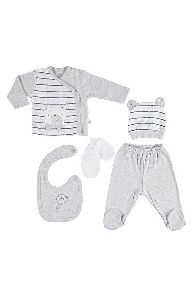 Bimini Cool Boy Erkek Bebek 5li Yeni Doğan Hastane Çıkışı Set