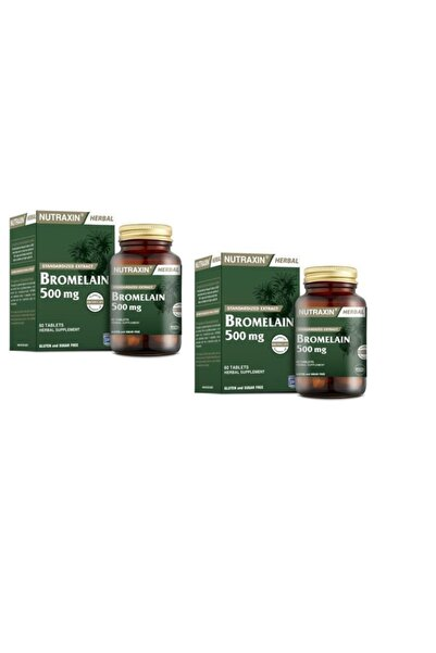Nutraxin Bromelain 60 Tablet X 2 Adet