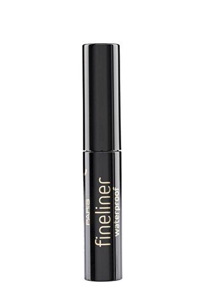 Pierre Cardin Fineliner Waterproof - Suya Dayanıklı Siyah Likit Eyeliner