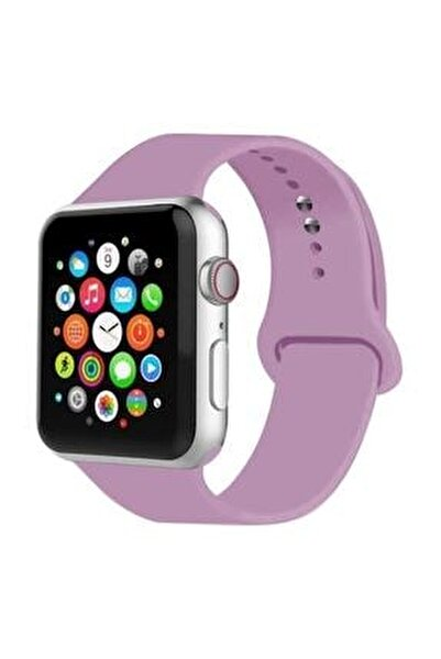 Apple Watch Kordon 2 3 4 5 6 Se Seri 42 Mm Ve 44 Mm Silikon Kordon Kayış