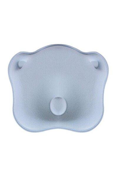 Sevi Bebe Mavi Düz Kafa Yastığı  Kafa Şekillendirici Yastık Art-155