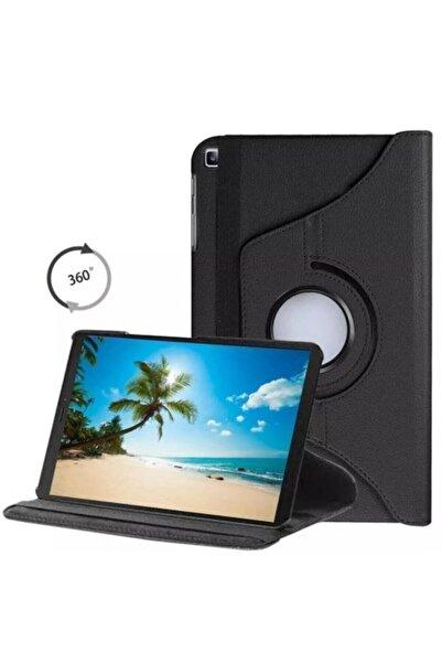 """HyperCep Samsung Galaxy Tab A7 T500 T505 T507 Kılıf 10.4"""" (2020) 360 Standlı Dönebilen Tablet Kılıfı Siyah"""