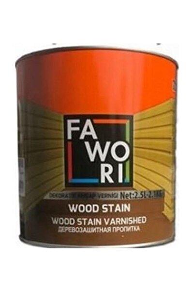 Fawori Naturel Wood Stain Vernikli Ahşap Koruyucu - 0,75 Litre
