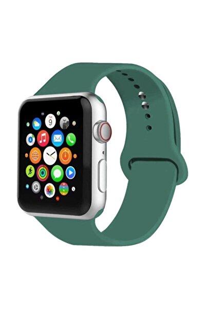 MORTY Apple Watch Kordon 2 3 4 5 6 Se Seri 42 Mm Ve 44 Mm Silikon Kordon Kayış Uyumlu