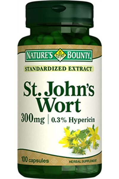 Nature's Bounty St. John's Wort 300 ng 100 Kapsül