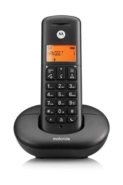 Motorola Siyah E201 Handsfree Dect Telsiz Telefon