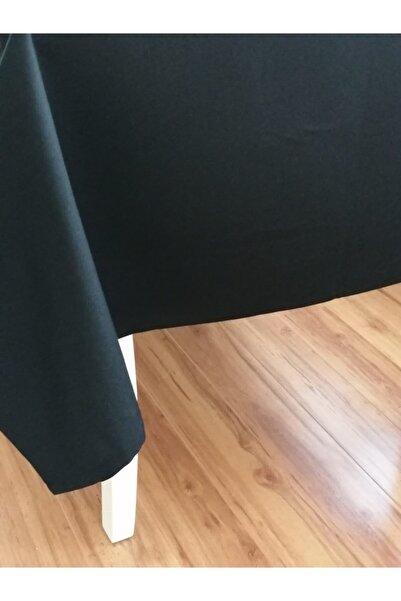 Fabric by Gülçin Koton Canlı Siyah Dikdörtgen Masa Örtüsü